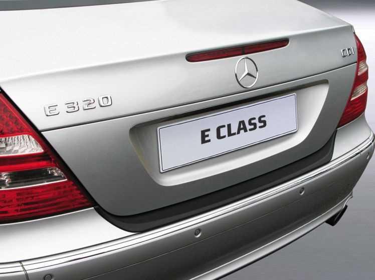 Bumperprotect Beschermstrip Abs Zwart Mercedes E Klasse Sedan Bj